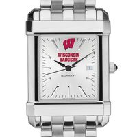 Wisconsin Men's Collegiate Watch w/ Bracelet