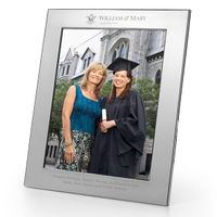 William & Mary Polished Pewter 8x10 Picture Frame
