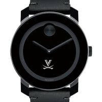 UVA Men's Movado BOLD with Leather Strap