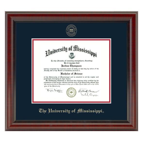 Ole Miss Fidelitas Diploma Frame