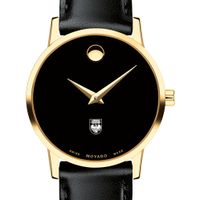 Chicago Women's Movado Gold Museum Classic Leather