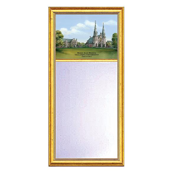 Villanova Eglomise Mirror with Gold Frame