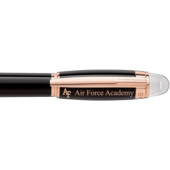US Air Force Academy Montblanc StarWalker Fineliner Pen in Red Gold