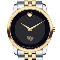 Wake Forest Men's Movado Two-Tone Museum Classic Bracelet