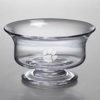 Clemson Large Glass Presentation Bowl by Simon Pearce