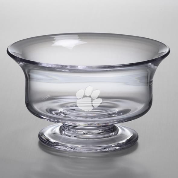 Clemson Large Glass Presentation Bowl by Simon Pearce