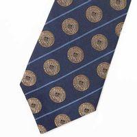 Merchant Marine Academy Insignia Tie in Navy Blue