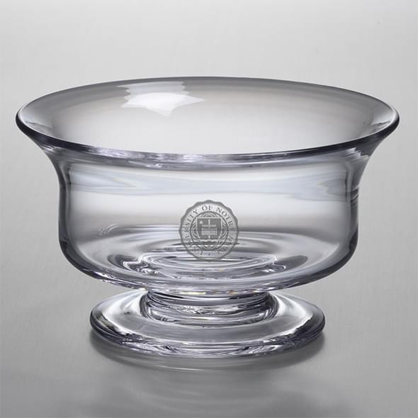 Notre Dame Large Glass Revere Bowl by Simon Pearce