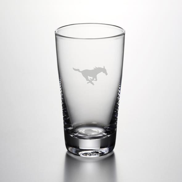 SMU Pint Glass by Simon Pearce