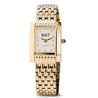 KKG Women's Gold Quad Watch with Bracelet Image-1 Thumbnail