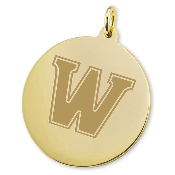 Williams College 14K Gold Charm
