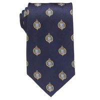 Navy Insignia XL Tie in Navy Blue
