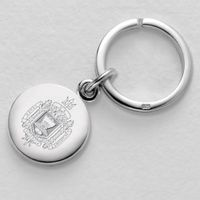 Naval Academy Sterling Silver Key Ring