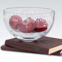 "UNC 10"" Glass Celebration Bowl"