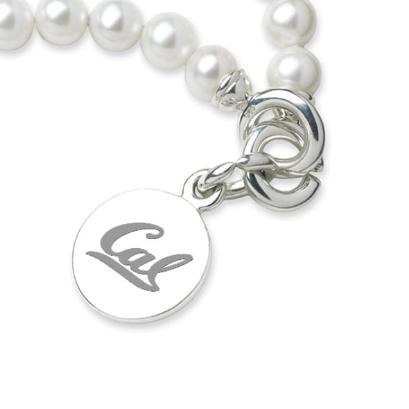 Berkeley Pearl Bracelet with Sterling Silver Charm
