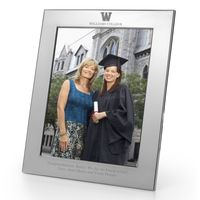 Williams College Polished Pewter 8x10 Picture Frame