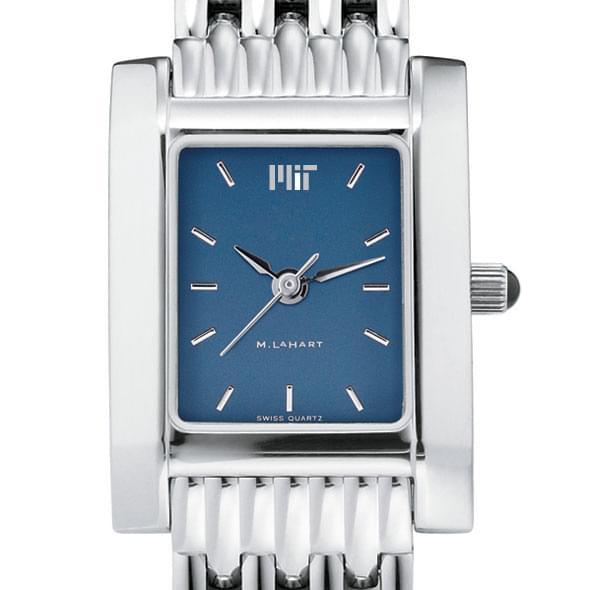 MIT Women's Blue Quad Watch with Bracelet