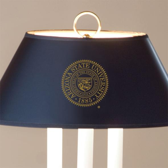 Traditional Arizona State Lamp in Brass and Marble