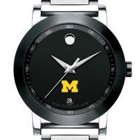 Michigan Men's Movado Museum Sport Bracelet