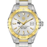 Wake Forest Women's TAG Heuer Two-Tone Aquaracer