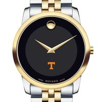 Tennessee Men's Movado Two-Tone Museum Classic Bracelet