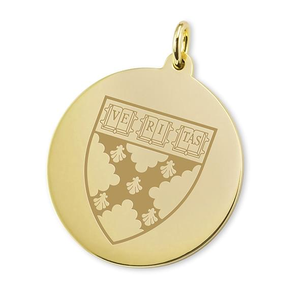 Harvard Business School School 14K Gold Charm