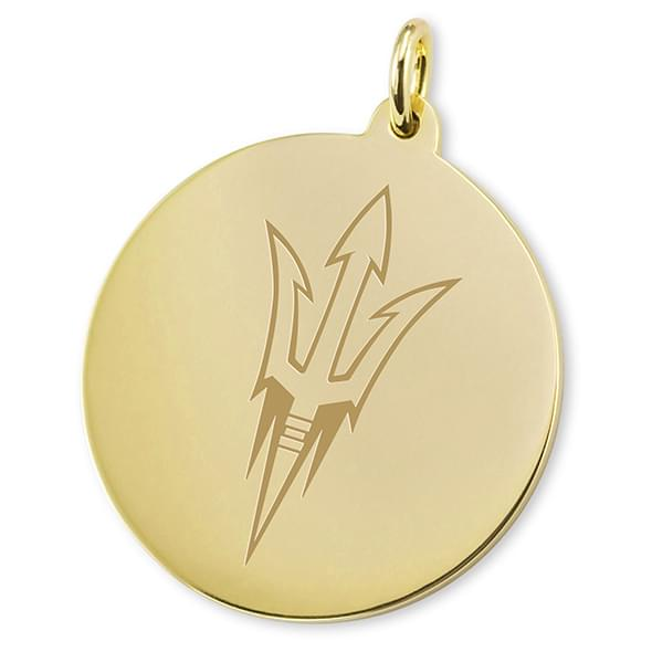 Arizona State 14K Gold Charm