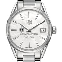 Naval Academy Women's TAG Heuer Steel Carrera with MOP Dial
