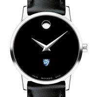 Johns Hopkins Women's Movado Museum with Leather Strap