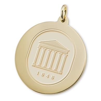 Ole Miss 18K Gold Charm Image-1