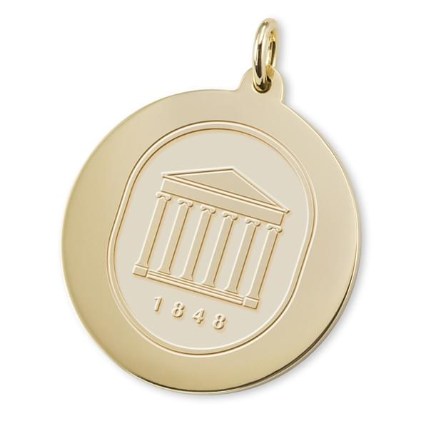 Ole Miss 18K Gold Charm Image-2