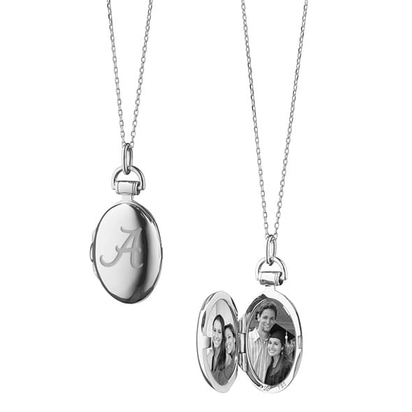 Alabama Monica Rich Kosann Petite Locket in Silver