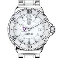 Holy Cross Women's TAG Heuer Formula 1 Ceramic Diamond Watch