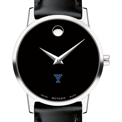 Yale Women's Movado Museum with Leather Strap