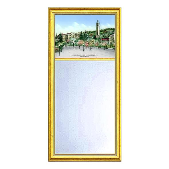 Berkeley Eglomise Mirror with Gold Frame