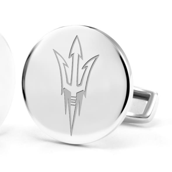 Arizona State Sterling Silver Cufflinks