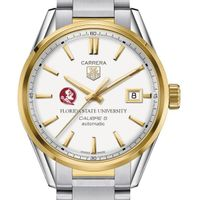 Florida State Men's TAG Heuer Two-Tone Carrera with Bracelet