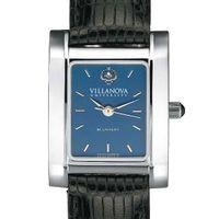 Villanova Women's Blue Quad Watch with Leather Strap