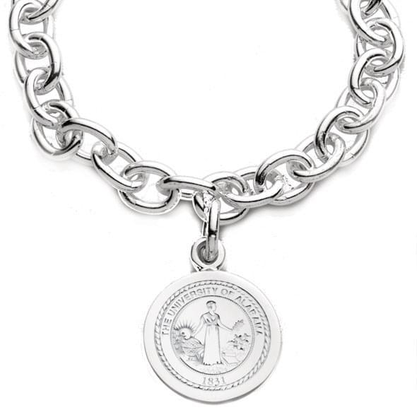 Alabama Sterling Silver Charm Bracelet