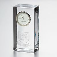 Yale Tall Desk Clock by Simon Pearce