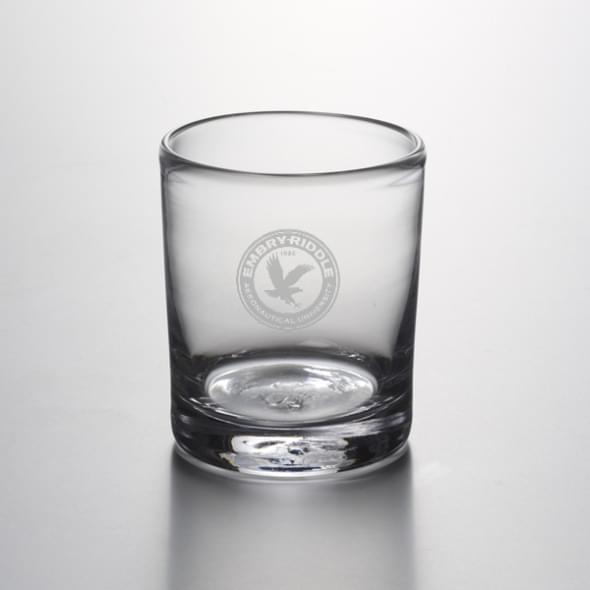 Embry-Riddle Double Old Fashioned Glass by Simon Pearce