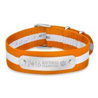 Clemson NATO ID Bracelet- Championship Edition