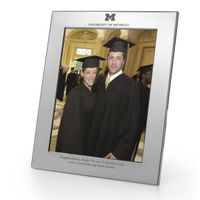 Michigan Polished Pewter 8x10 Picture Frame