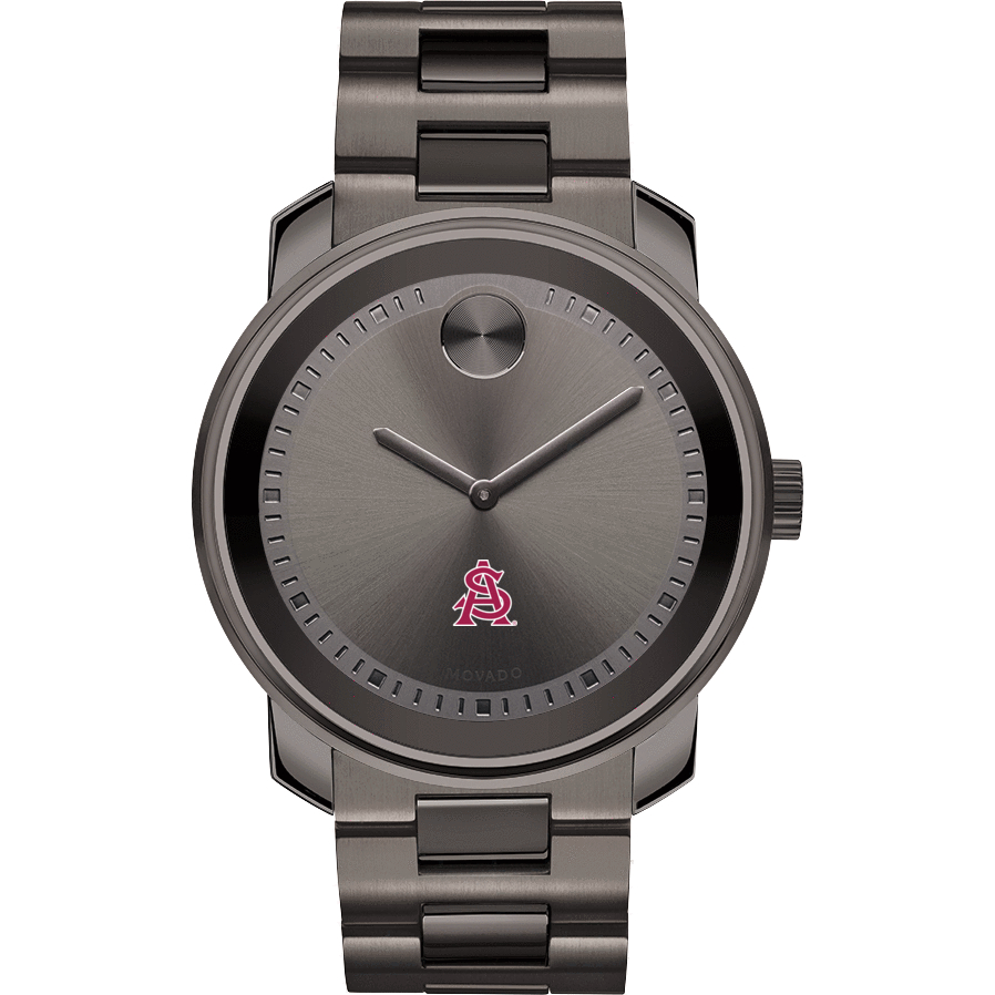 Arizona State Men's Movado BOLD Gunmetal Grey