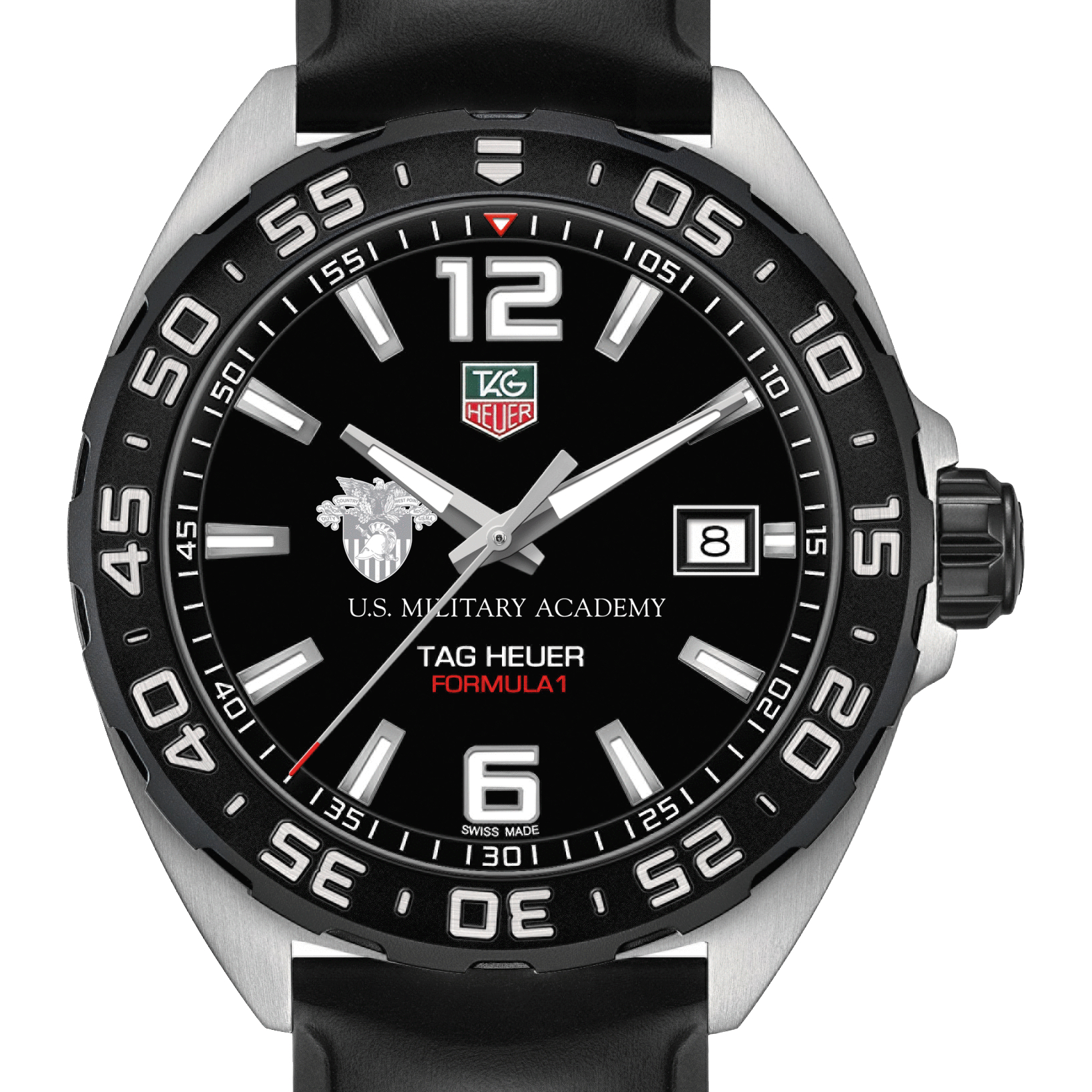 West Point Men's TAG Heuer Formula 1 with Black Dial
