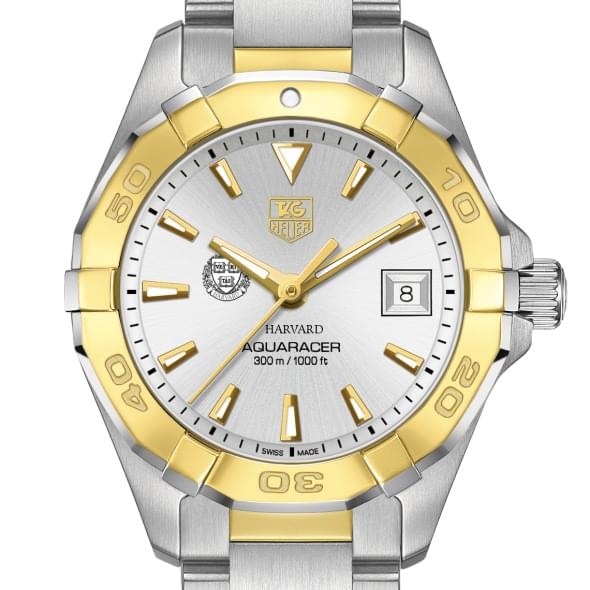 Harvard Women's TAG Heuer Two-Tone Aquaracer