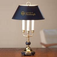 Traditional Pitt Lamp in Brass and Marble