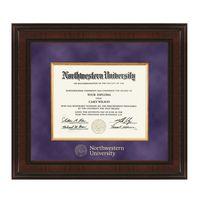 Northwestern Excelsior Diploma Frame