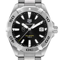 Emory Men's TAG Heuer Steel Aquaracer with Black Dial