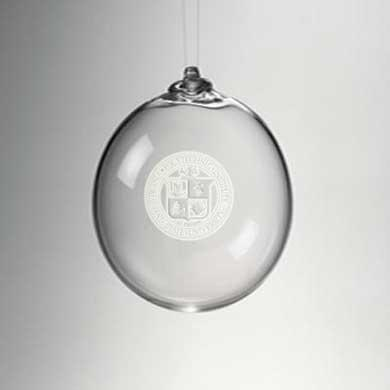 VT Glass Ornament by Simon Pearce